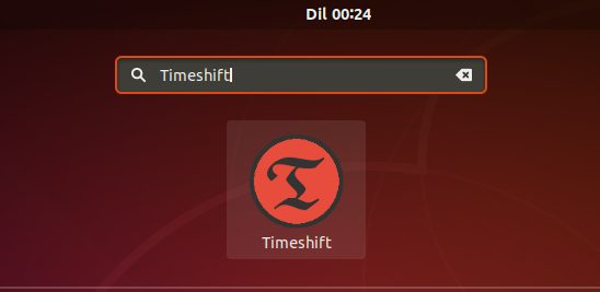 Access-Timeshift-Ubuntu