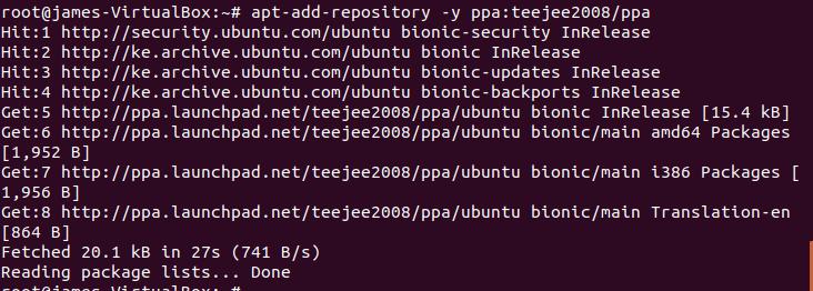 Add-timeshift-repository