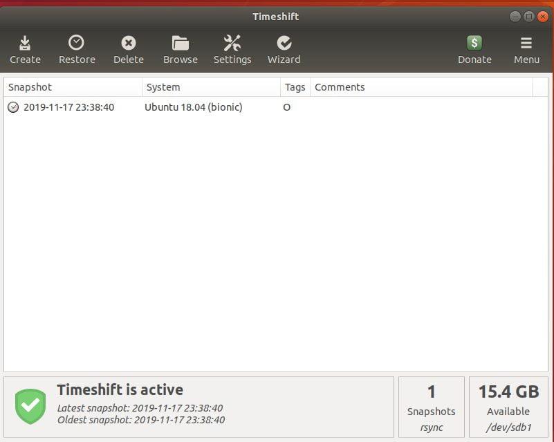 Snapshot-created-TimeShift
