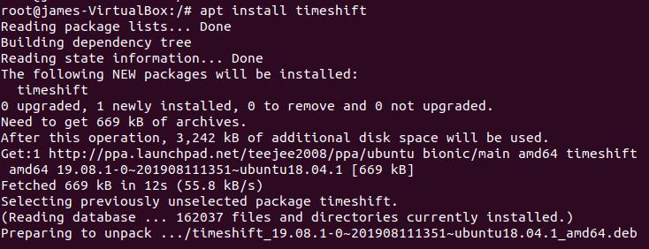 apt-install-timeshift
