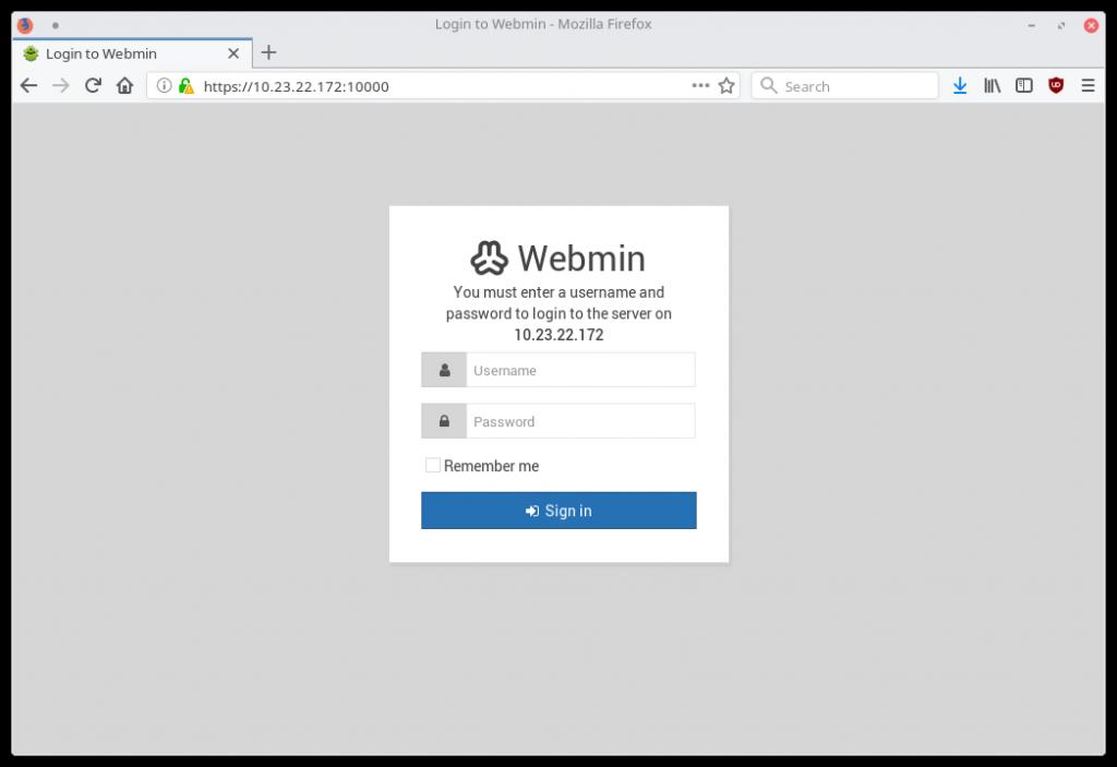 Installing Virtualmin 1