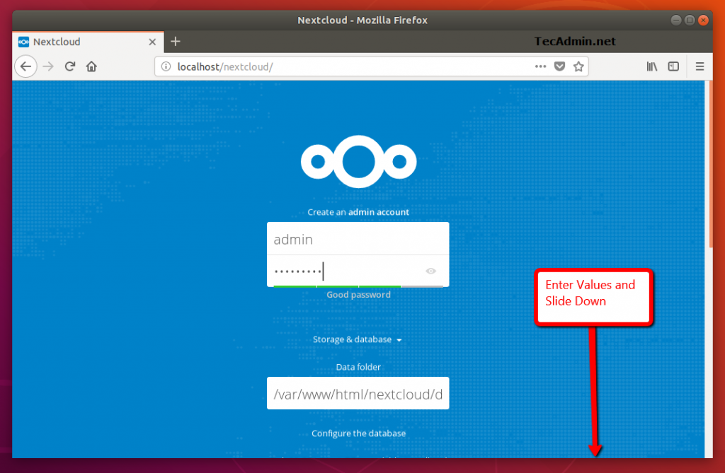 How to Install Nextcloud on Ubuntu 16.04 (Xenial) 2